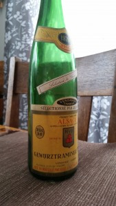 Reg's Wine Blog photo 1976 Gewurztraminer Hugel SGN Fut 28