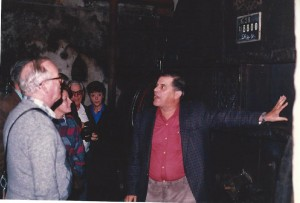 Reg's Wine Blog photo Hugel's Fut 28 Jean makes a point Sept 1986