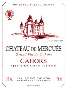 Reg's Wine Blog Château de Mercues wine label
