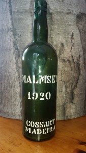 Reg's Wine Blog photo Malmsey Cossart Gordon 1920