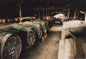 Reg's wine blog photo aging old madeira wines in hot warehouse attics