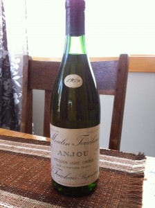 Reg's Wine Blog photo Moulin Touchais 1959 my cellar