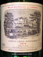 Reg's Wine Blog photo Chateau-Lafite-Rothschild-1979