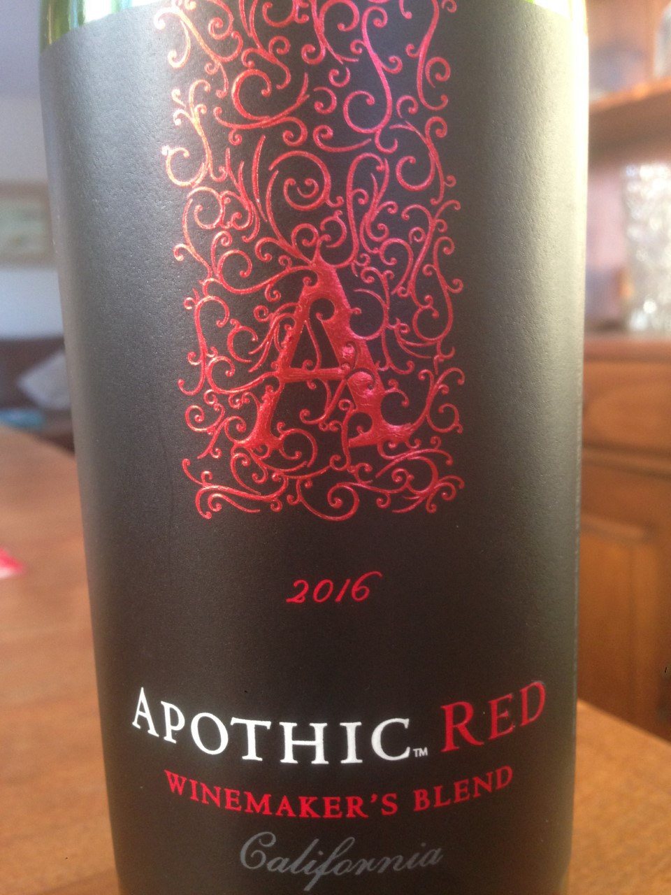 Post 68 Tasting The Apothic Red Wines From E J Gallo Reg S Wine Blog